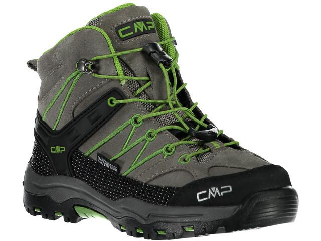 CMP Campagnolo Rigel Mid WP Trekking Shoes Kinder tortora-edera